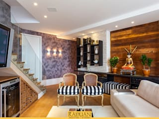 Sala de Estar: Salas de estar  por Raduan Arquitetura e Interiores