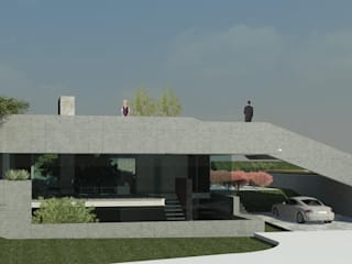 Houses by Hugo Pereira Arquitetos, Modern