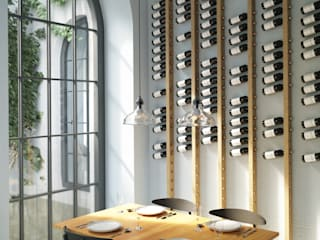wine collection in commercial spaces - wine bars/hotels/restaurants TU LAS Wine cellar Wood