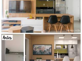 Cocinas de estilo  de Danyela Corrêa Arquitetura, Moderno