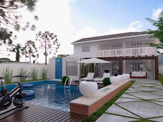 Reforma no Jardim: Casas  por Vinicius Miguel Arquitetura,Moderno
