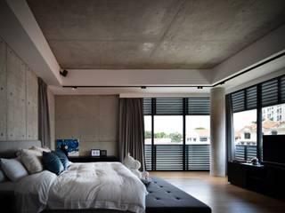 Phòng ngủ phong cách hiện đại bởi Sen's Photographyたてもの写真工房すえひろ Hiện đại