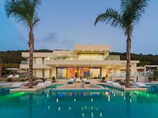 Villa Afrodita Casas de estilo moderno de Miralbo Urbana S.L. Moderno