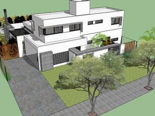 Casa AFL: Casas de estilo  por Development Architectural group