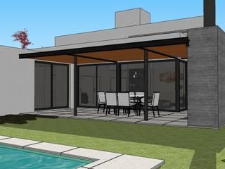 Casa AFL: Jardines de estilo  por Development Architectural group