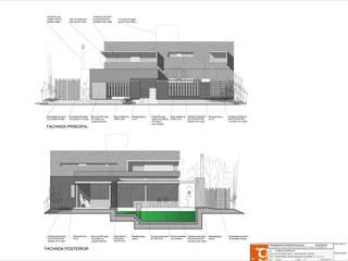 Casa AFL:  de estilo  por Development Architectural group