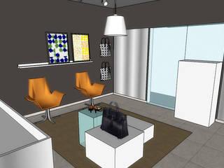 Loja FD:   por AJN arquitetura,Moderno