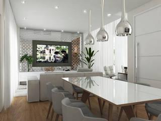 Aresto Arquitetura Minimalist dining room