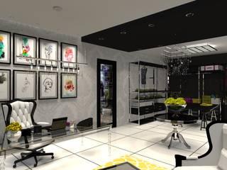 Oficinas y bibliotecas de estilo ecléctico de Diseño de Locales Ecléctico