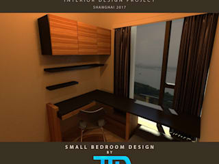 Modern style bedroom by JEREMY TRON DESIGN - Evolution Architecture, Design & Communication Studio Modern