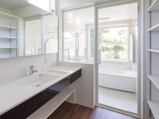 藏森: 株式会社プラスアイが手掛けた浴室です。