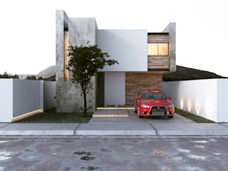 Barrera House: Casas de estilo  por AS. ARQUITECTOS