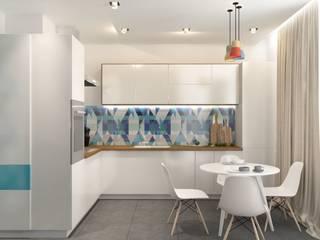 Квартира в Измайлово Modern Kitchen by Anastasia Yakovleva design studio Modern