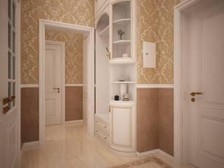 Трехкомнатная квартира в сталинском доме: Коридор и прихожая в . Автор – дизайн-бюро ARTTUNDRA