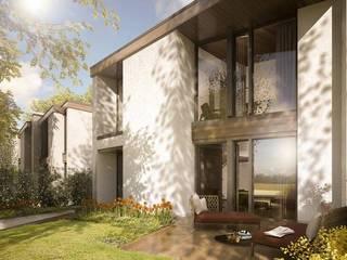 Residenze a Carmignano di Brenta: Case in stile in stile Moderno di studio associato AtelierArchitettura