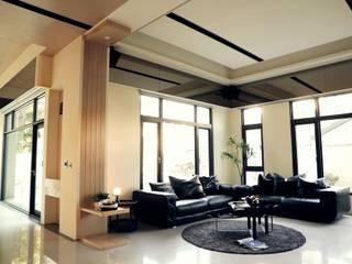 Livings de estilo minimalista de 舍子美學設計有限公司 Minimalista