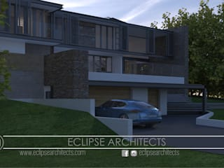 Cocinas de estilo moderno de Eclipse Architects Moderno