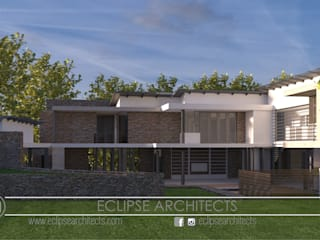 Casas modernas de Eclipse Architects Moderno