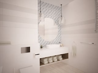 Minimalist style bathroom by дизайн-бюро ARTTUNDRA Minimalist