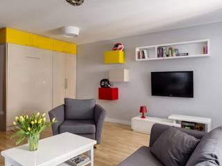 Pokój dzienny: styl , w kategorii Salon zaprojektowany przez Aleksandra Kurowska
