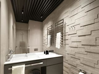 Quarry Bay Residential:  Bathroom by CLOUD9 DESIGN