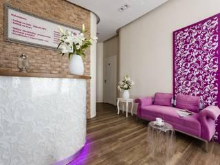 Recepcja: styl , w kategorii Kliniki zaprojektowany przez Aleksandra Kurowska