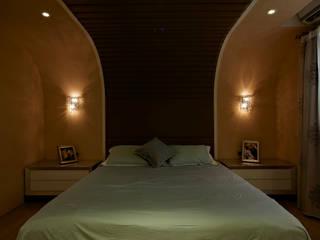 Dormitorios de estilo ecléctico de 舍子美學設計有限公司 Ecléctico
