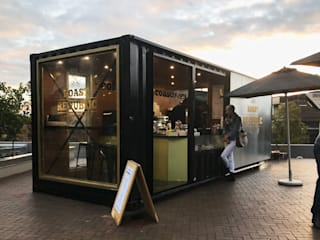 Roast Republic Container by A4AC Architects Modern