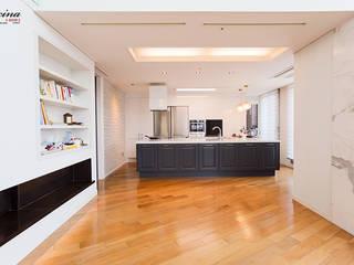 cocina Modern living room