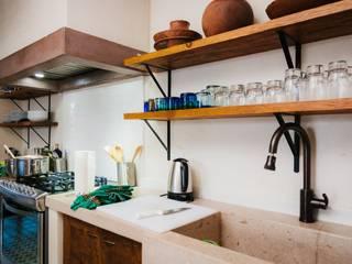 Cocinas de estilo  por HA Arquitectos, Ecléctico