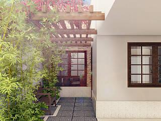 Residencia Neópolis Casas rústicas por Bureau-Arquitetura Rústico