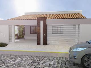 Residencia Neópolis Casas modernas por Bureau-Arquitetura Moderno