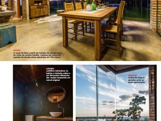 Salão de festas: Casas  por Caio Caldart Arquitetura