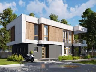Ильмас Хисамутдинов Minimalist house Concrete White