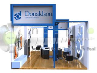 stand de diseño:  de estilo industrial por 2411CONCEPTO, Industrial