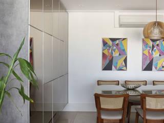Apartamento Tatuapé - SP: Salas de jantar  por Antonio Armando Arquitetura & Design