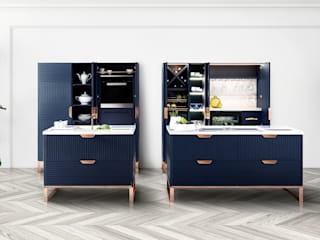 Miuccia Modern Kitchen by TM Italia Modern