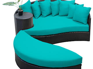Outdoor Garden Furniture in Delhi: modern  by Studio Machaan ,Modern