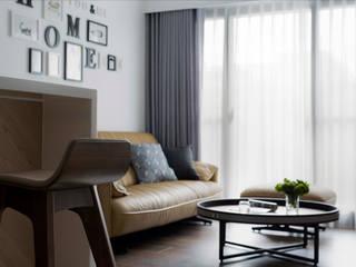 Modern living room by 釩星空間設計 Modern
