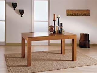 CORDEL s.r.l. Dining roomTables Solid Wood Transparent