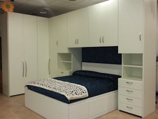 CORDEL s.r.l. BedroomWardrobes & closets Than củi White