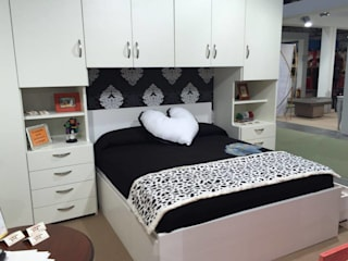CORDEL s.r.l. BedroomWardrobes & closets Solid Wood White