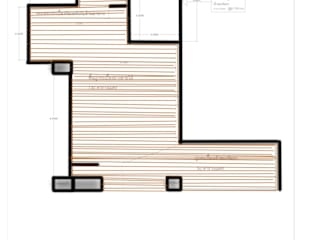 C&M Walls & flooringWall & floor coverings Bahan Sintetis Amber/Gold