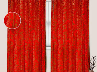 Curtain suppliers and dealers in jaipur: country  by RR Interiors,Country