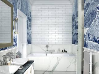 Classic style bathroom by MIKOŁAJSKAstudio Classic