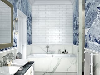 MIKOŁAJSKAstudio Classic style bathroom
