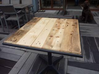 table café  by Adri:  de style  par l'atelier d'adri