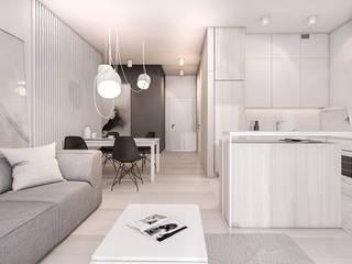 Living room by FOORMA Pracownia Architektury Wnętrz