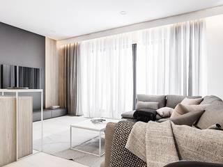 Modern Living Room by FOORMA Pracownia Architektury Wnętrz Modern