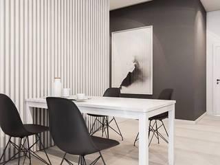 Столовые комнаты в . Автор – FOORMA Pracownia Architektury Wnętrz, Модерн